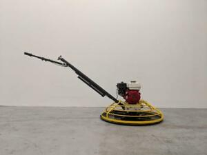 HOC PME-S100 36 INCH POWER TROWEL HONDA GX160 5.5 HP + FREE BLADES + FLOAT PAN + 3 YEAR WARRANTY + FREE SHIPPING