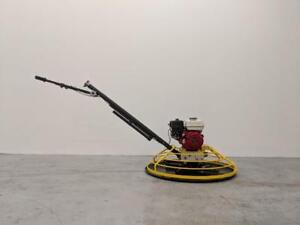 HOC PME-S100 PRO SERIES 36 INCH POWER TROWEL HONDA GX160 5.5 HP + FREE BLADES FLOAT PAN + 3 YEAR WARRANTY FREE SHIPPING