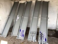Set of Ifor Williams trailer sides including posts but no Headboard to fit LTR 167.