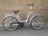 Ladies step through city bicycle small frame bike in great condition