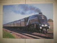 "Canvas Steam Train Print 30"" x 20"" 60009 Union of South Africa - Borders Railway"