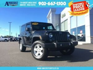 2016 Jeep Wrangler SPORT 4X4 - MANUAL, HARD TOP
