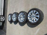 """16"""" alloy wheels VW Audi Seat"""