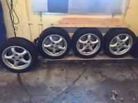 "Mazda MX-5 Miata eunos Mk2 15"" rims alloy wheels"