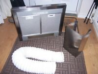 Kitchen Extractor Fan Hood complete with lights in full working order
