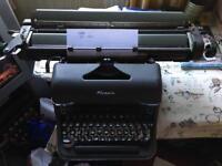 Olympia Typewriter Vintage A3