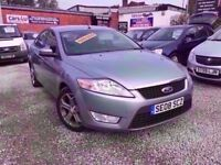 08 FORD MONDEO ZETEC TDCI 2.0 DIESEL IN SILVER *PX WELCOME* MOT TILL APRIL 2018 £2295