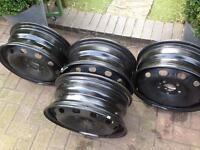 """Steel wheel rims 16"""""""