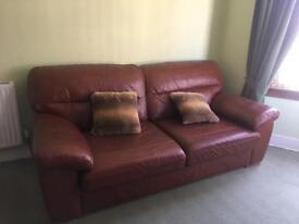 M&S leather sofas