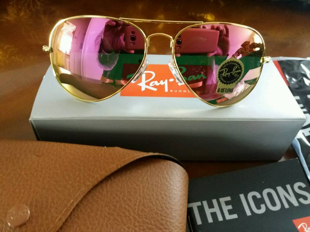 RAY BAN AVIATORS RB3025 BRAND NEW made in