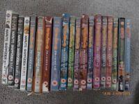 19 Naruto cds including 2 movies
