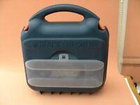 black & decker mouse sander in carry case.