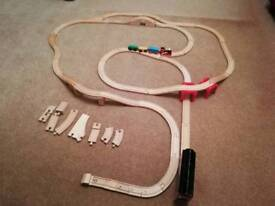 Brio and compatible wooden track
