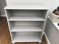 French Grey Bookcase