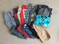 Bundle of Boys Clothes, Age 7-8 (15 Items)