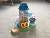 Peppa pig heater skelter and accessories