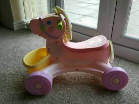 Fisher price hourse