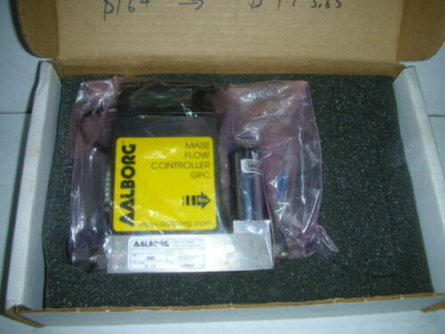 Aalborg GFC171S Stainless Steel Mass Flow Controller 0-15 L/min 12VDC 500PSI NOS