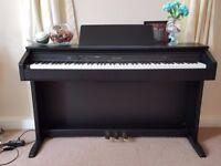 CASIO CELVIANO AP-250 DIGITAL PIANO IN BLACK FULL SIZE 88 KEYS 3 pedals, nearly new piano