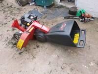 MTD petrol wood chipper shredder