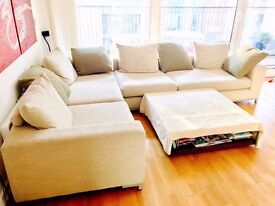 corner sofa - very comfortable and mint condition
