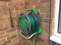 Hose and reel - high quality wall mountable