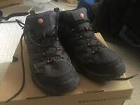 Mens Merrell Walking Shoes Size 10