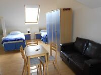 TWIN or double studio at the HIGH ROAD! zone 2 / jubilee line