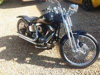 Harley Davidson Bobber springer