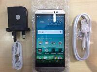 HTC M9 GOLD / UNLOCKED / 16 GB / VISIT MY SHOP/ .NEW COND. /1 YEAR WARRANTY + RECEIPT