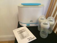 Phillips Advent 3 in 1 Electric Steam Steriliser