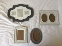 x4 hanging picture frames - various sizes (from Next RRP £50)