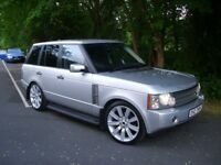 "LAND ROVER RANGE ROVER TD6 VOUGE / 22"" ALLOYS / q7 x5 discovery mercedes ml px gti sport x3 st bmw"