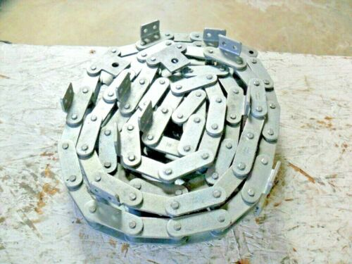 """qty 102"""" - Renord Conveyor Chain C2060H,  w/ K-2 Attachment Links"""
