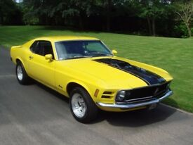 1970 Ford Mustang Fastback 351 Cleveland V8 Auto
