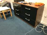 Beautiful 6 drawer sideboard .
