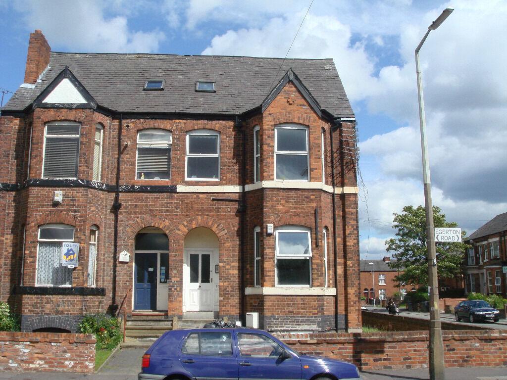 1 bedroom duplex to rent egerton road, m14   in withington