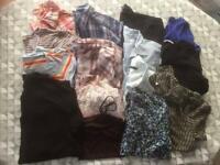 Job lot women's blouses/tops size 16