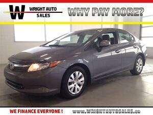 2012 Honda Civic LX| BLUETOOTH| CRUISE CONTROL| A/C| 100,941KMS