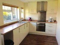 A newly furnished one large bedroom Annex in Egham to rent.
