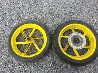 Honda CBR600F3 Rear Wheel + Tyre & Disc