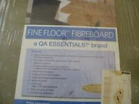 NEW/SEALED 7mm Fibreboard Underlay 9.6 square metres, 19 Sheets in pack