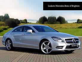 Mercedes-Benz CLS CLS350 CDI BLUEEFFICIENCY AMG SPORT (silver) 2013-09-01