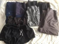 Maternity jeans, shorts and trousers - 8 pieces