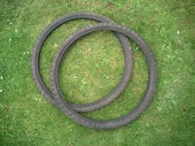2x 26 inch tyres