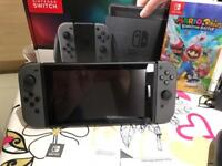 Nintendo switch as new 20 days old
