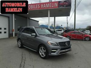 2013 Mercedes-Benz M-Class ML 350 BlueTEC 4MATIC AMG CUIR GPS TO