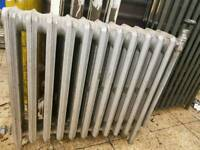 Cast iron radiators. Floor standing. 3 off