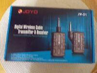 JOYO JW-01 GUITAR TRANSMITTER/RECEIVER