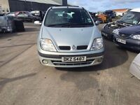 2000 1.6 Petrol Renault Scenic, Breaking for parts only. Postage Nationiwde
